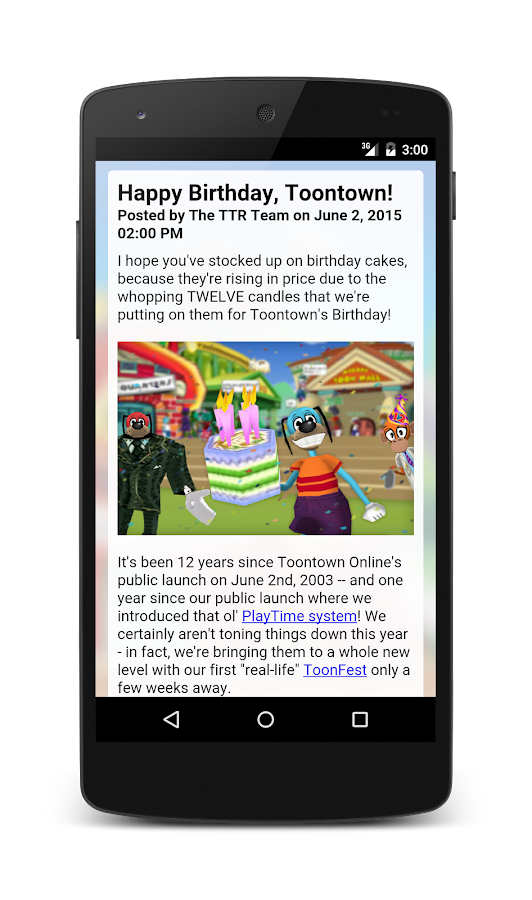 ToonHQ for Toontown Rewritten- screenshot