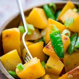 Brown Sugar-Coconut Glazed Rutabaga Salad