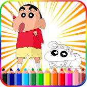 Shinchan Coloring Book