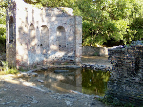 Photo: Butrint - Nympheion 2nd century AD