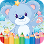 Bear Drawing Coloring Book APK icon