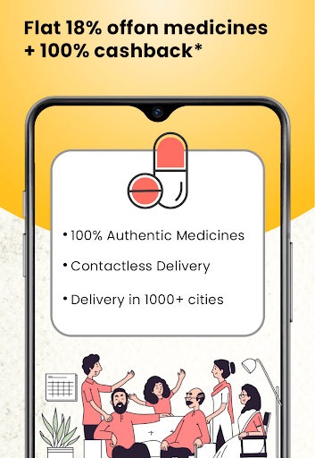1mg - Online Medical Store & Healthcare App 11.8.2 Screenshots 2