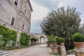 Photo: Just outside Villa d'Este in Tivoli, Lazio, Italy on the top level of the gardens