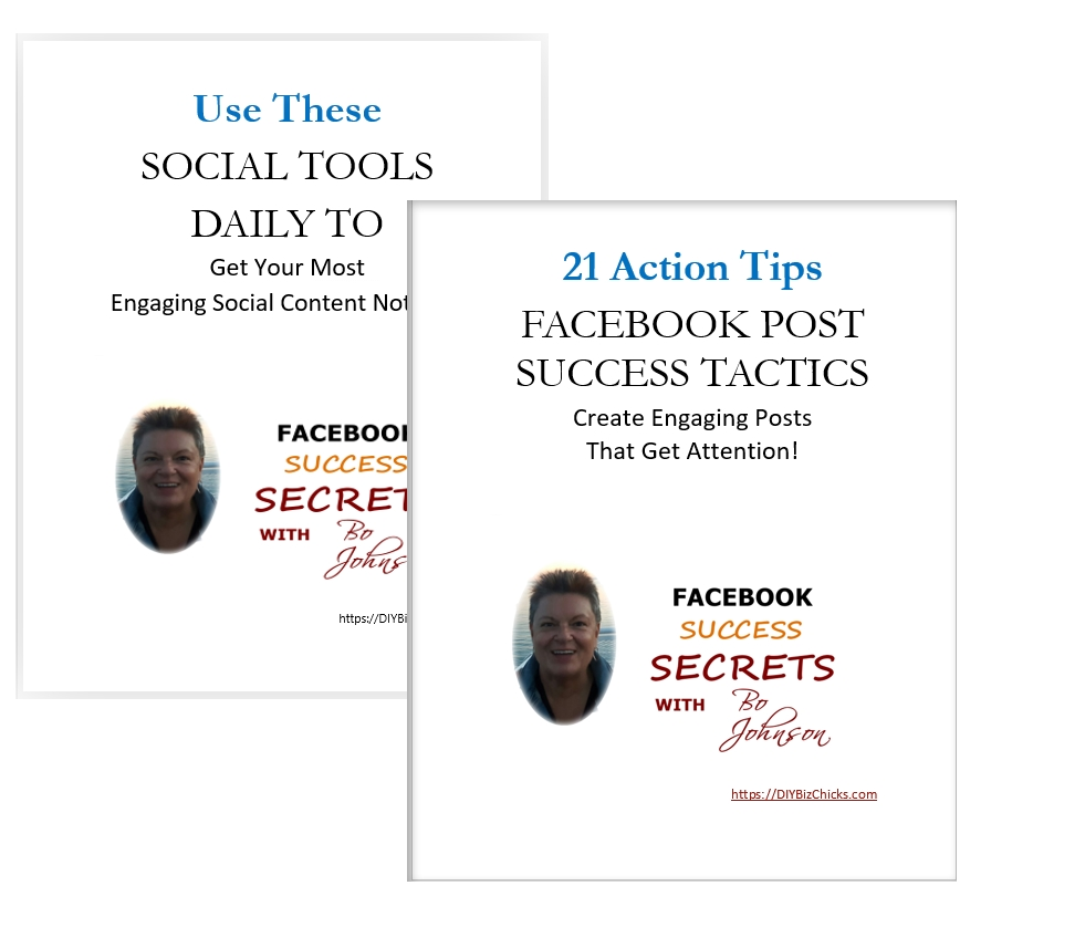 Facebook Success Secrets extra resources