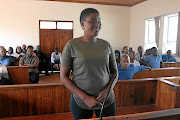 Thobela FM's presenter Raesetja  Choshi in the  Seshego magistrate's court were she faces a  conspiracy to the murder charge.  /ANTONIO MUCHAVE