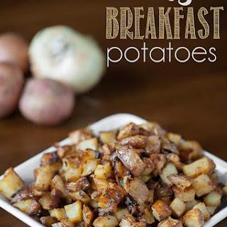 Easy Breakfast Potatoes.