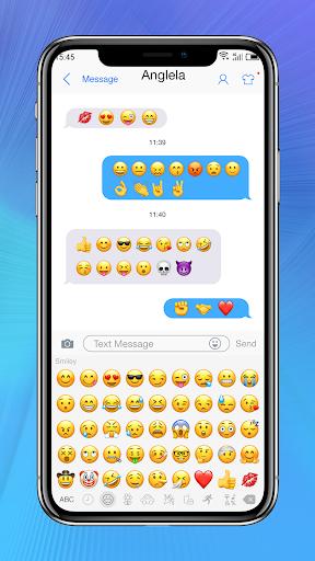Messaging+ OS11 Cute Emoji 2.8 screenshots 2