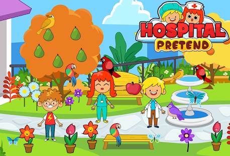 My Pretend Hospital - Kids Hospital Town Life FREE- screenshot thumbnail