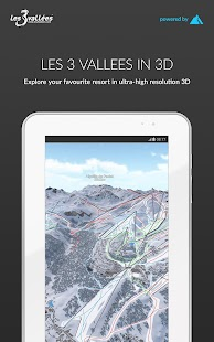 Les 3 Vallées 3D by FATMAP- screenshot thumbnail