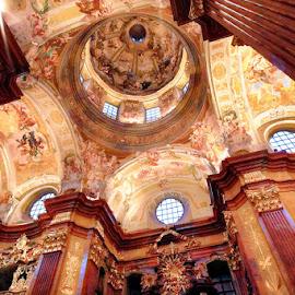 Melk Abbey by Radu Eftimie - Buildings & Architecture Places of Worship ( interior, melk abbey, melk, austria )
