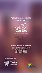 Achei Cartão screenshot 5