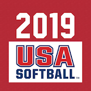 App Icon for USA Softball Official Rules App in United States Play Store