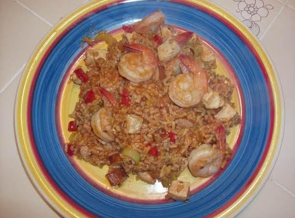 Creole Style Chicken, Sausage & Shrimp Recipe