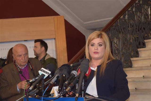 """Χατζηγεωργίου: Αβάσιμοι οι φόβοι για τις """"Πρέσπες"""" <p>Νοτοπούλου: Έντιμη η συμφωνία!"""