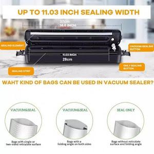 Aparat de vidat pungi - Vacuum Sealer