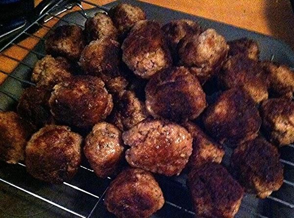 Mamie's Swedish Meatballs Recipe