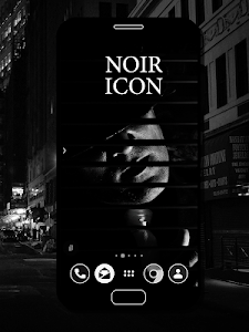 NOIR Icon Pack 1.1.3 (Patched)