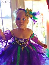 Photo: serious little princess