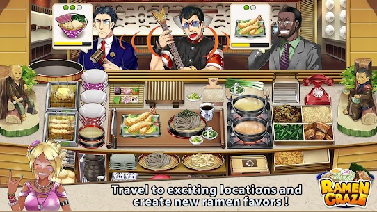 Ramen Craze – Fun Kitchen Cooking Game Apk Download For Android and Iphone 2