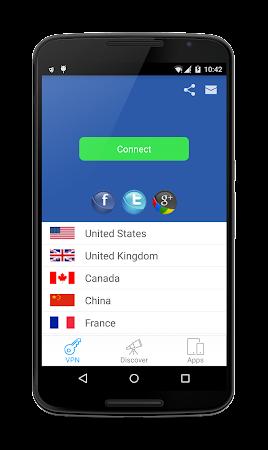 HideMe Free VPN & Proxy 2.9 screenshot 56608