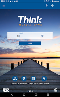 Think Mutual Bank Mobile App- screenshot thumbnail