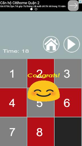 sliding puzzle - brain game