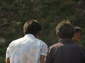 Photo: Afectados por el terremoto en la aldea de Khalte, distrito de Dhading.