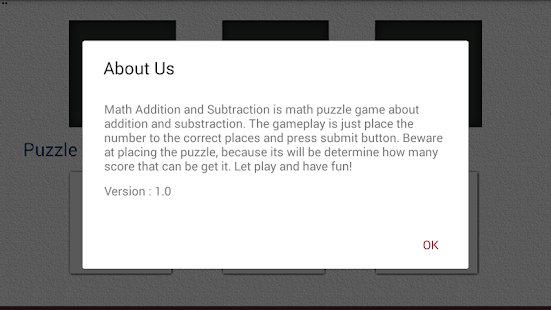 Math Addition and Subtraction- screenshot thumbnail