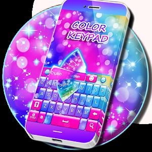 change color of keypad android apps on google play. Black Bedroom Furniture Sets. Home Design Ideas