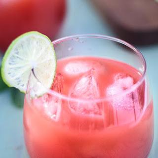 Watermelon Limeade Punch {Boozy & Kids Versions!}.