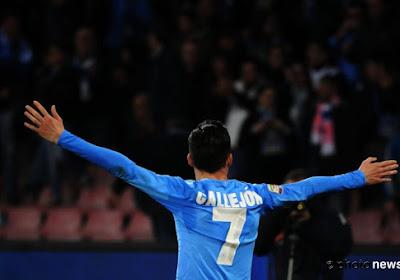 Club Brugge kwam al snel op achterstand bij Napoli