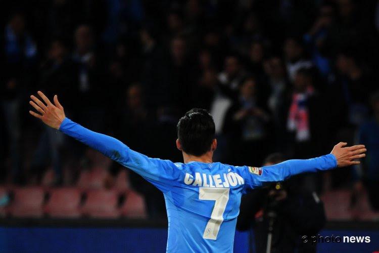 José Maria Callejon reste en Serie A