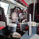 1st class train ticket in Zermatt, Valais, Switzerland