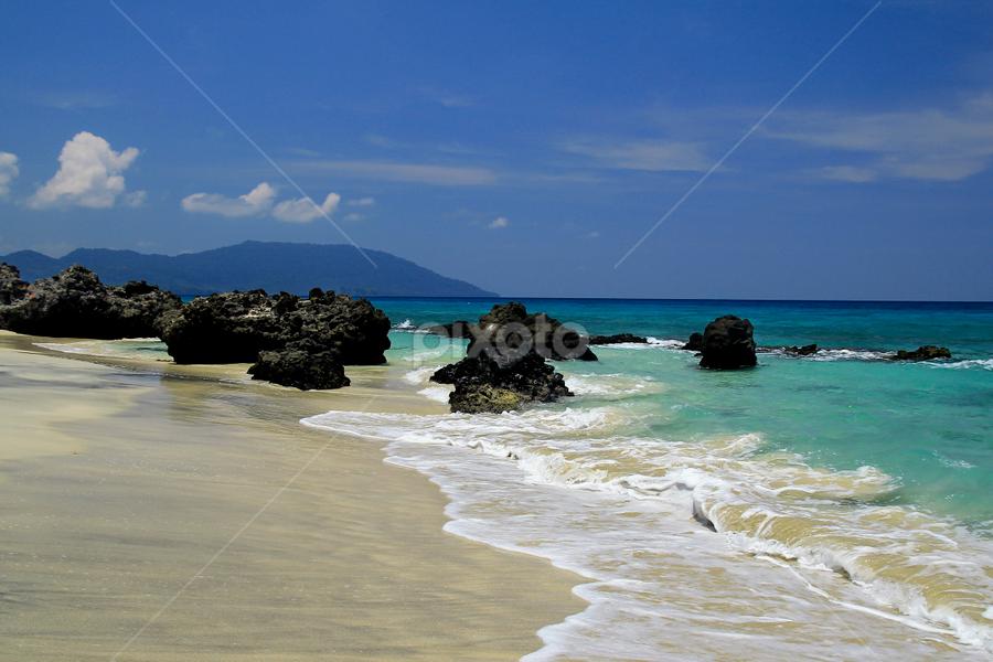 Love Beach by Palti Siregar - Landscapes Beaches