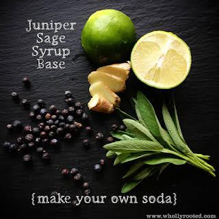 Juniper-Sage Syrup.