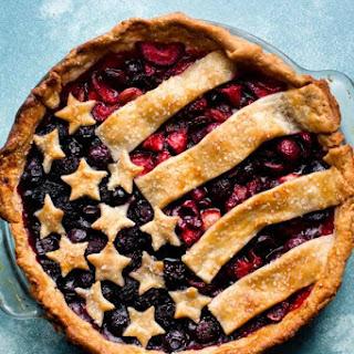 American Flag Pie.