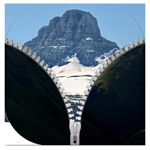 山 拉鍊鎖屏 個人化 App LOGO-APP試玩