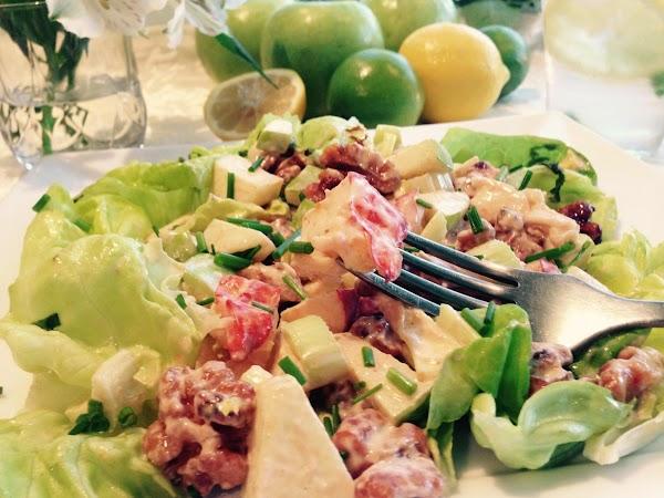 Thai Lobster Waldorf Salad Recipe