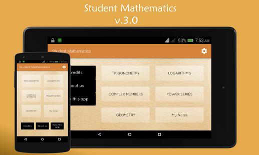 Student Mathematics - náhled