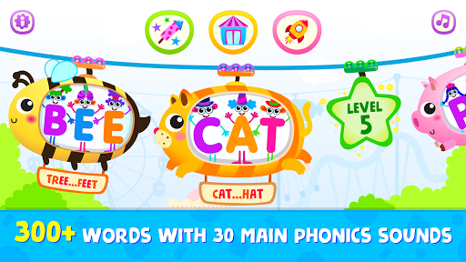 Phonics: Reading Games for Kids & Spelling Apps 이미지[1]