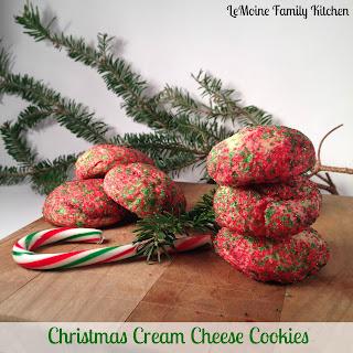 Christmas Cream Cheese Cookies