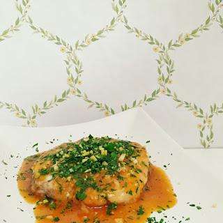 Monkfish Ossobuco with Gremolada.