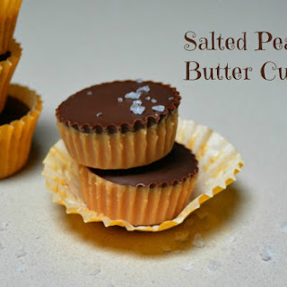 Salted Peanut Butter Cups Recipe