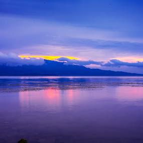 Lake Toba From The Side  by Dian Manik - Landscapes Travel ( pesonaindonesia, traveler, photographer, wonderfullindonesia, landscape, laketoba )