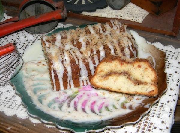 Banana Streusel Bread Recipe