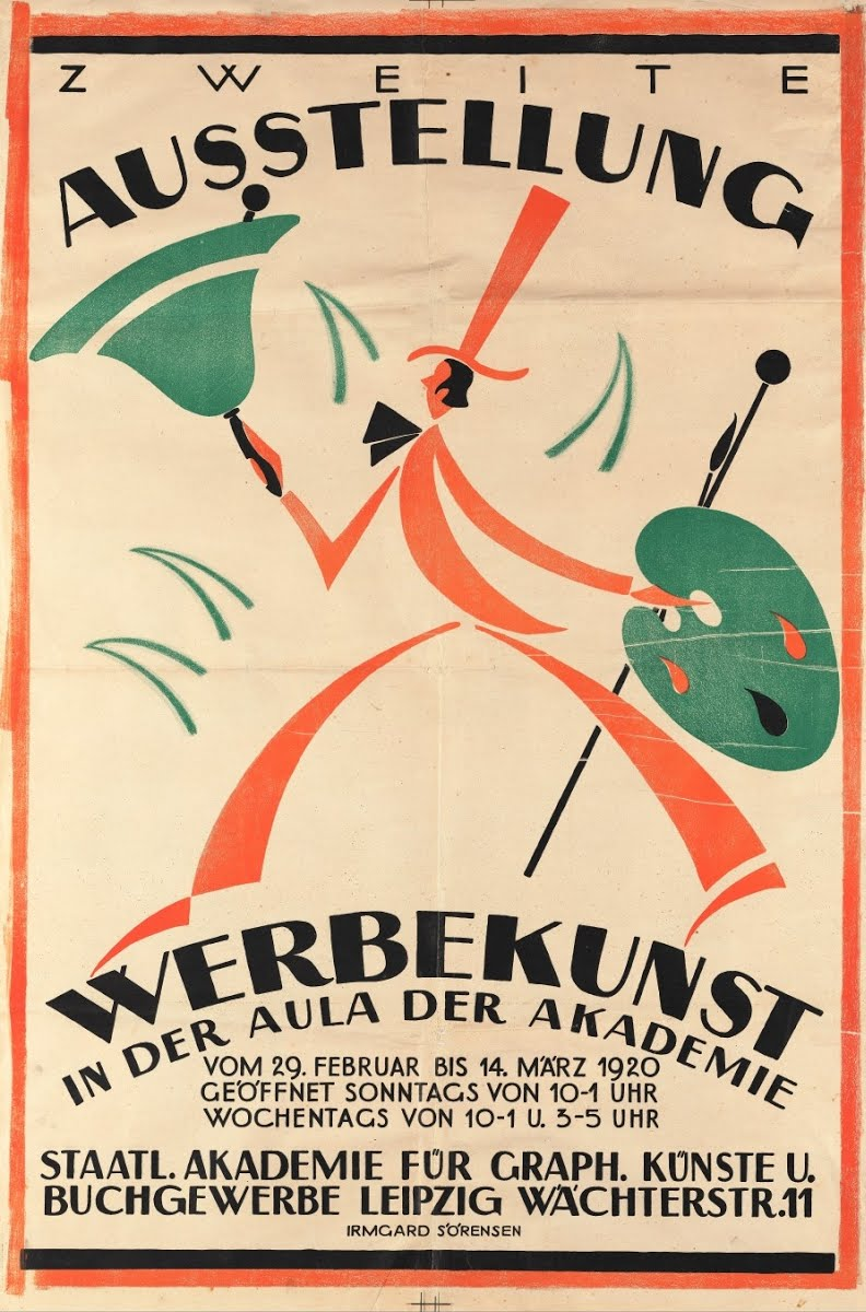 Poster For Advertising Art Exhbition In Leipzig Sore Popitz Google Arts Culture