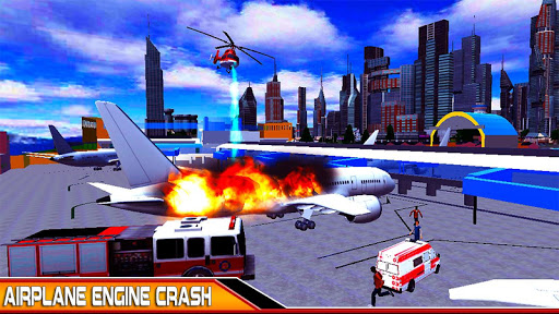 NewYork Rescue Firefighter Emergency truck sim2019  screenshots 3