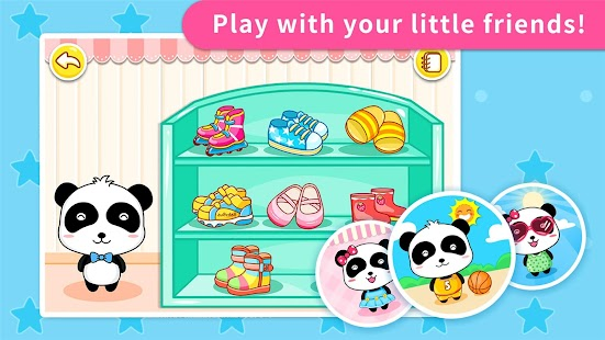 Baby Panda's Shoes - náhled