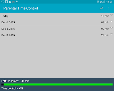 Parental Time Control- screenshot thumbnail
