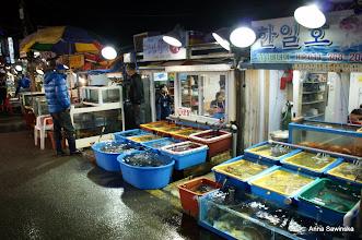 Photo: Korean fish market